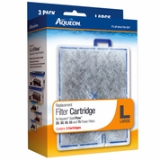 Aqueon Replacement Filter Cartridges Large (3 Pack)