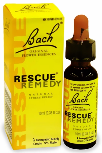 Bach rescue remedy anxiety
