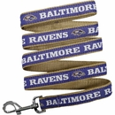 Baltimore Ravens Dog Collar & Leashes
