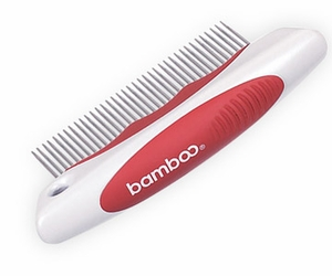 """""""Bamboo"""" DOG Rotating Fine Tooth Comb"""