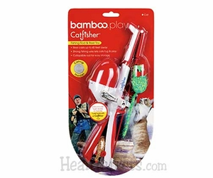 Bamboo Play - CatFisher� Rod & Reel Cat Toy