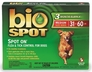 Bio Spot On Spot - MEDIUM for Dogs 31 to 60 lbs. (3 Month Supply)
