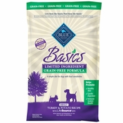 Blue Buffalo Basics Grain-Free Turkey & Potato Recipe - Adult Dogs (24 lb)