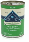 Blue Buffalo Canned Lamb & Rice Dinner (12.5 oz)