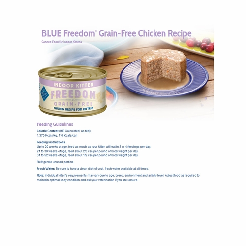 natural food grain free blue freedom adult beef recipe