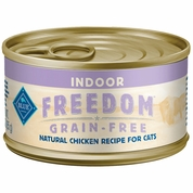 Blue Buffalo Freedom Grain-Free Indoor Adult Chicken Recipe (24x3oz)