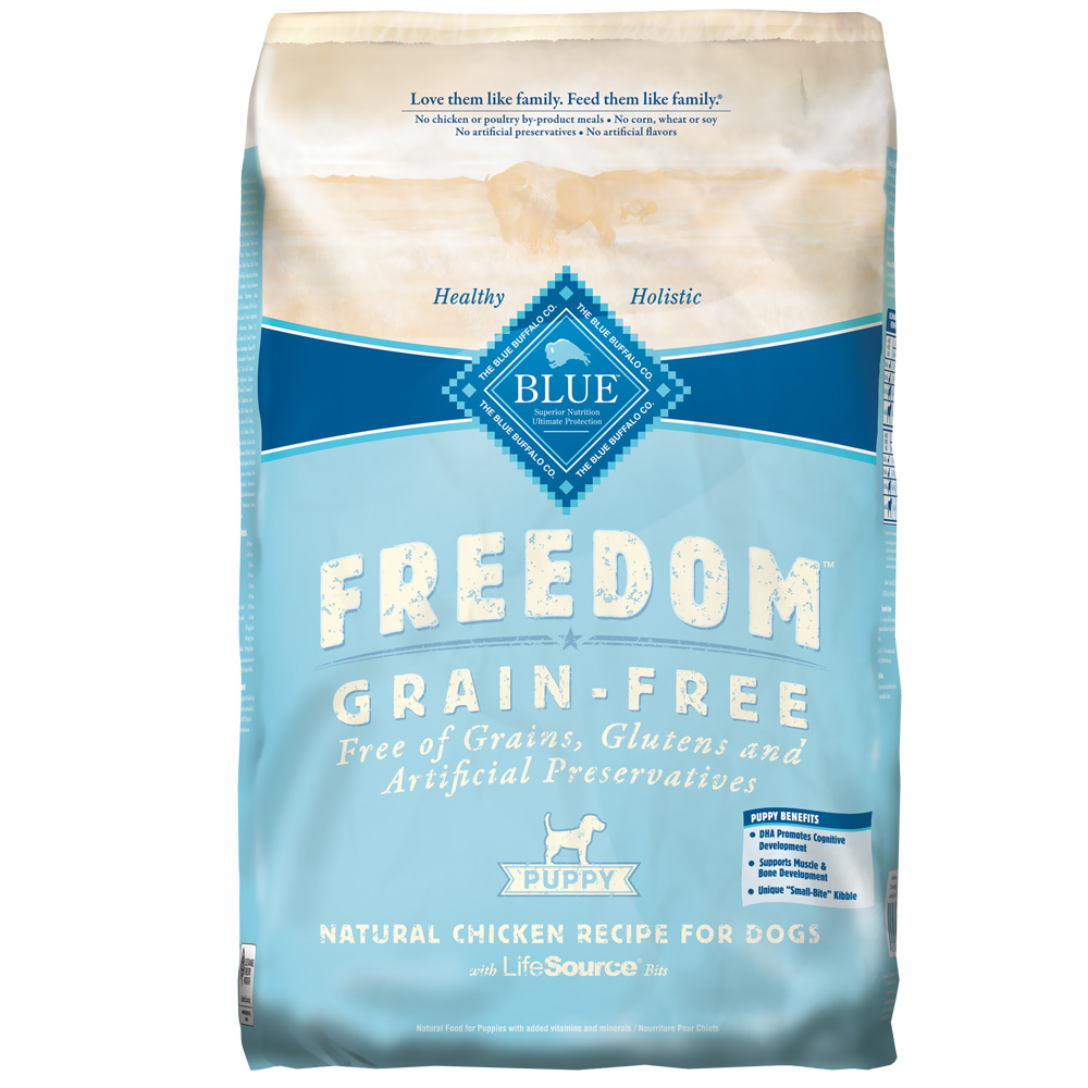 Blue Buffalo Freedom Grain-Free Puppy Chicken Recipe (24 lb)