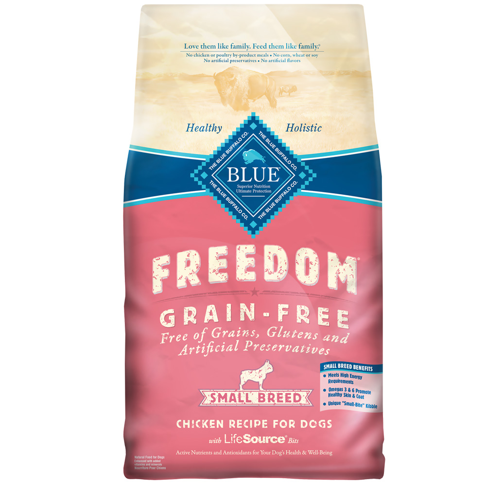 Blue Buffalo Freedom Grain-Free Small Breed Chicken Recipe (11 lb)