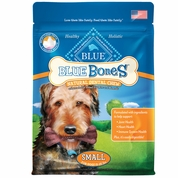 Blue Buffalo Natural Dental Chew Bones - Small (12 oz)