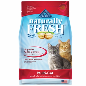Blue Buffalo Naturally Fresh Multi-Cat Clumping Litter (26 lb)