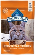 Blue Buffalo Wilderness Chicken & Turkey Cat Treats (2 oz)