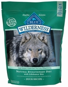 Blue Buffalo Wilderness Grain-Free Duck Recipe for Adult Dogs (5 lb)