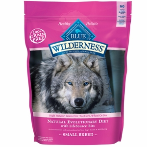Blue Buffalo Wilderness Grain-Free Small Breed Chicken Recipe (11 lb)