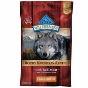 Blue Buffalo Wilderness Rocky Mountain Large Breed - Red Meat (22 lb)