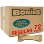 BONIES (BULK BOX) Natural Dental Bones (72 Regular Bones)