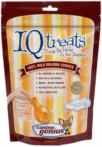 Canine Genius IQ Treats - Wild Salmon (6 oz)