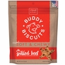 Cloud Star Buddy Biscuits Soft & Chewy Dog Treats - Grilled Beef Flavor (6 oz)