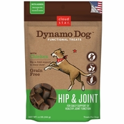 Cloud Star Dynamo Dog Functional Treats - Hip & Joint - Chicken (14 oz)