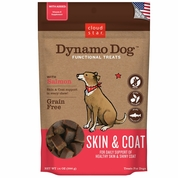 Cloud Star Dynamo Dog Functional Treats - Skin & Coat - Salmon (14 oz)