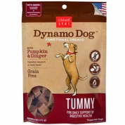 Cloud Star Dynamo Dog Functional Treats - Tummy - Pumpkin & Ginger (5 oz)