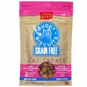 Cloud Star Grain Free Buddy Biscuits for Cats Savory Turkey & Cheddar (3 oz)