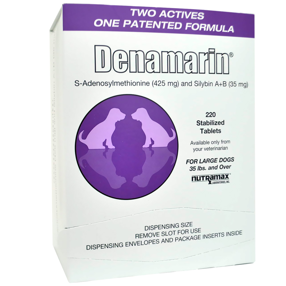Denamarin for Large Dogs Over 35 lbs  425 mg (220 Tabs)