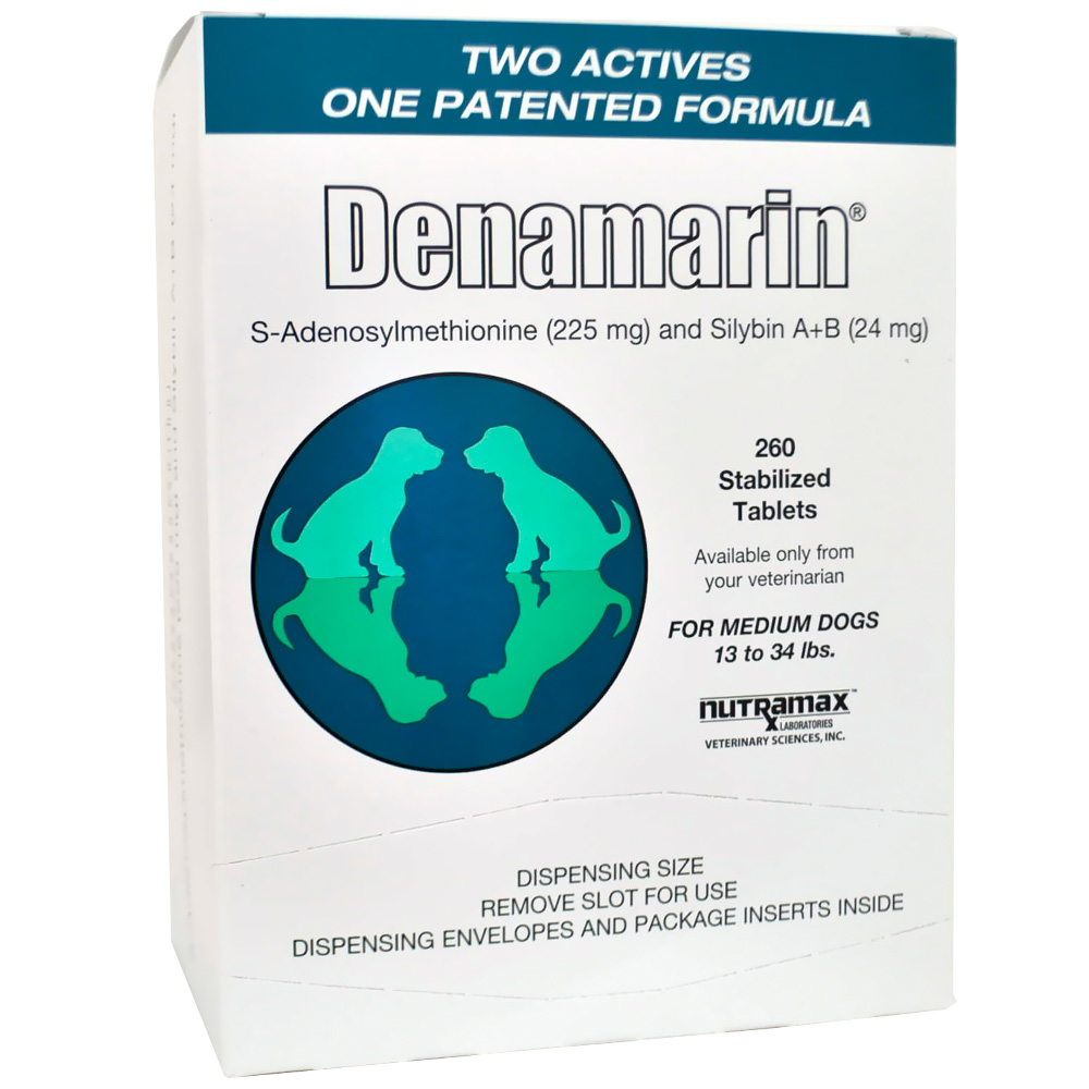 Denamarin for Medium Dogs 13 to 34 lbs. (260 Tabs)