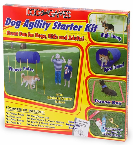 Agility Course For Dogs Dog Agility Starter Kit