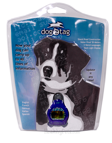 Dog-e-Tag BLUE