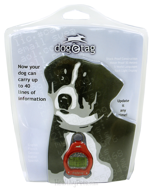 Dog-e-Tag RED