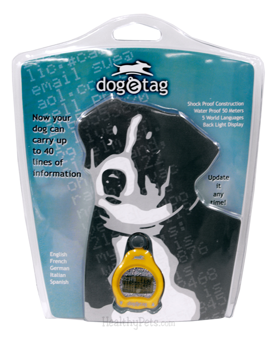Dog-e-Tag YELLOW