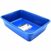 Dosckocil Cat Litter Pan with Microban Large - Blue