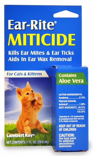 Miticide for cats