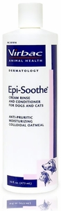 EPI-SOOTHE Cream Rinse and Conditioner by VIRBAC - 16 fl. oz