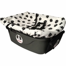 "FidoRido® Pet Car Seat - White/Black (24""x18x10"")"