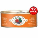 Fromm Four-Star Cat Food - Canned Chicken & Salmon Pate (12x5 oz)