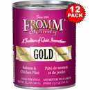 Fromm Gold Dog Food - Canned Salmon & Chicken Pate (12x13 oz)