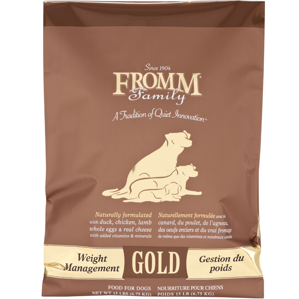 Fromm Gold Dog Food Weight Management 15 Lb Healthypets