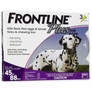 Frontline Plus for Dogs 45-88 lbs - PURPLE, 3 MONTH