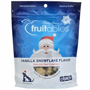 Fruitables Dog Treats - Vanilla Snowflake (7 oz) - Holiday Edition