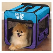 Guardian Gear Collapsible Crate Medium - Lime/Blue