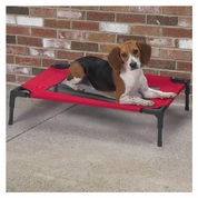 Guardian Gear Pet Cot w/Mesh Panel XLarge - Crimson