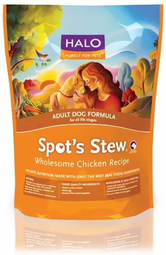 HALO Spot's Stew Wholesome Chicken Dry Adult Dog Food (28 lb)