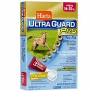 Hartz UltraGuard Pro Flea & Tick Drops for Dogs - 15-30 lbs