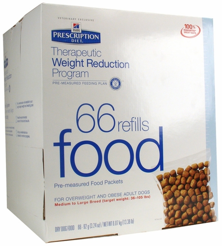 Hill's Prescription Diet Therapeutic Weight Reduction Program Food ...
