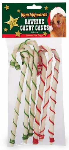 "Holiday Candy Cane 6pk (8"")"