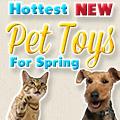 Hottest New Dog Toys for Spring 2013