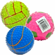 "Howard Sport Rubber Balls 3.5"" (Assorted)"