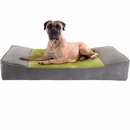 "JLA Pets Shadow Pillow Top Stretch Lounger - Grey (42x24"")"