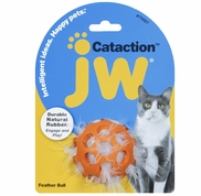 JW Pet Cataction Feather Ball
